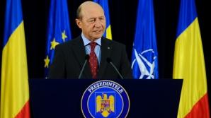 Băsescu: Unirea naţiunii române într-un singur stat românesc este un ideal de care nu am să mă dezic