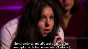 Tânăra româncă care a umilit un lider UKIP