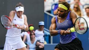 Simona Halep o provoacă la o nouă confruntare pe Serena Williams