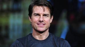 IMAGINI DRAMATICE cu Tom Cruise: La un pas să fie CĂLCAT DE UN AUTOBUZ la Londra