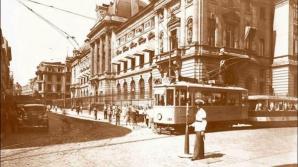 Primul tramvai electric din Bucureşti pornea acum 120 de ani - FOTOGRAFII DE COLECŢIE