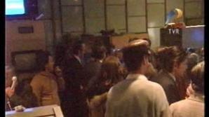 Studioul TVR în timpul REVOLUŢIEI din decembrie 1989