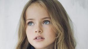 A fost declarată cea mai FRUMOASĂ fată din lume la doar 8 ani