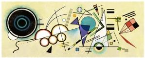 Google şi-a modificat logoul pentru a marca 148 de ani de la naşterea pictorului Vasili Kandinski