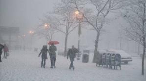 Patru județe, fără electricitate din cauza zăpezii