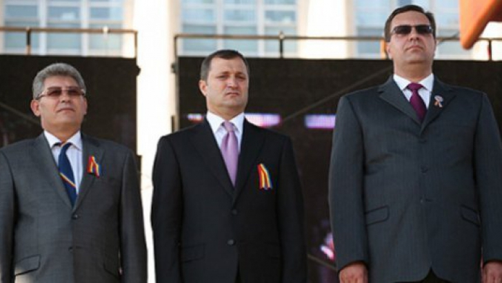 Mihai Ghimpu,Vlad Filat şi Marian Lupu