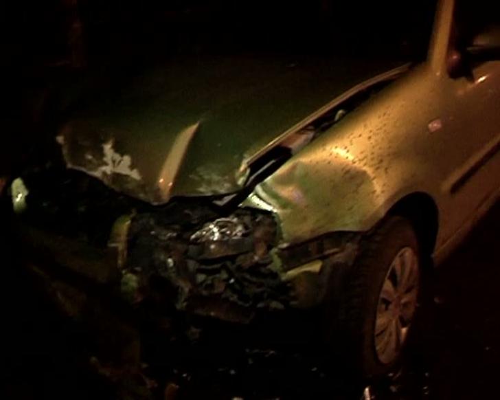 Un șofer băut a distrus trei mașini