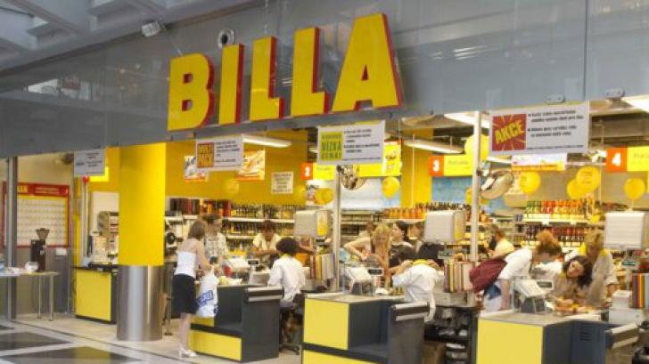 Veste BOMBĂ despre Billa