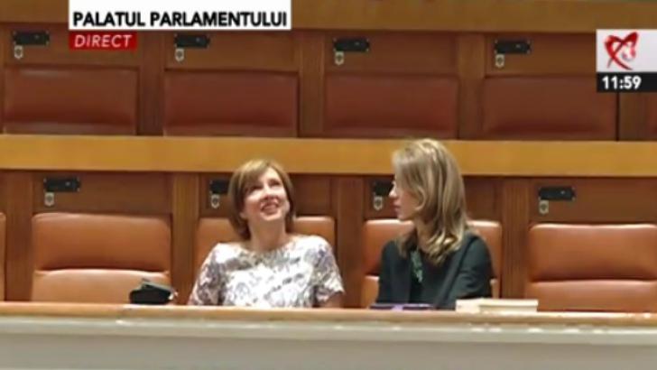 Carmen Iohannis şi Alina Gorghiu