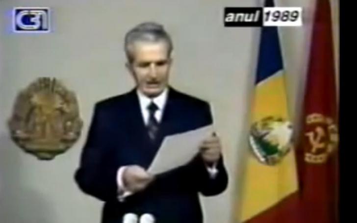 Ceaușescu, penultimul discurs