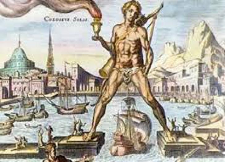 A şasea minune a lumii: Colosul din Rodos