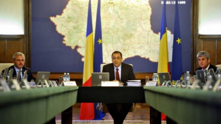Guvernul Ponta 4: Cine sunt miniștrii cu diplome de doctorat