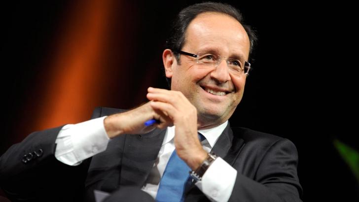 Francois Hollande se așteaptă la o creștere de peste 1% a economiei franceze în 2015