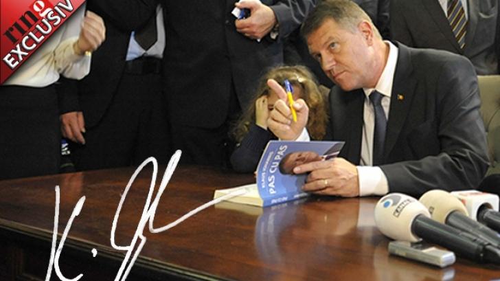 CÂT COSTĂ AUTOGRAFUL lui Klaus Iohannis pe INTERNET