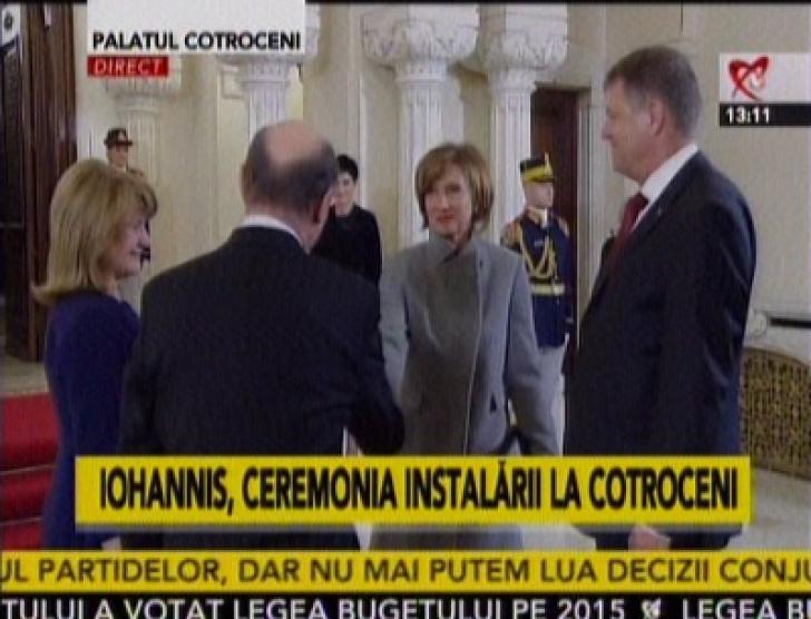 Iohannis la Cotroceni