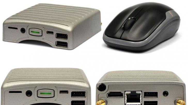 Este INCREDIBIL ce au făcut acești producători! Acesta e calculatorul cât un mouse!