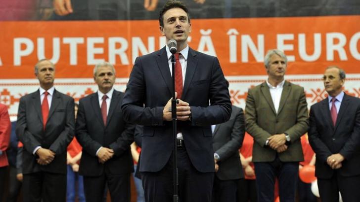 Cătălin Ivan candidează la şefia PSD