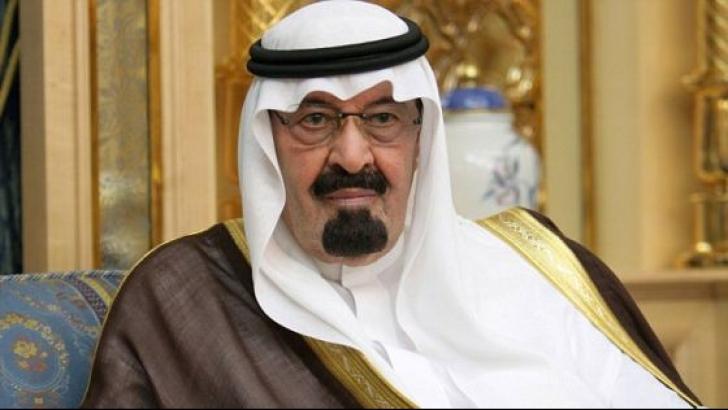 Regele Abdallah al Arabiei Saudite a fost spitalizat
