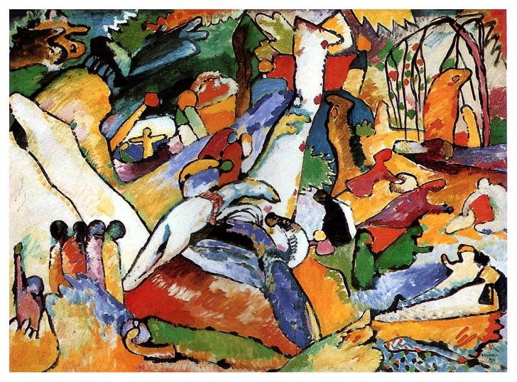 Compoziţiile lui Kandinski din anii de dinaintea Primului Război Mondial