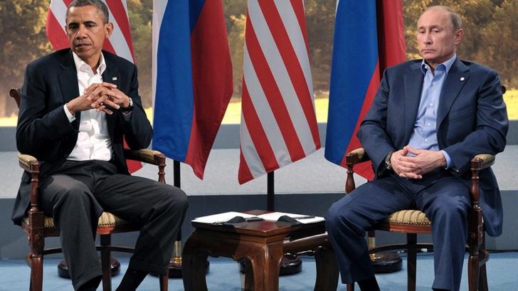 Vladimir Putin l-a invitat pe Barack Obama la Moscova