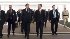 Președintele Klaus Iohannis s-a întâlnit ci secretarul general al NATO, Jens Stoltenberg