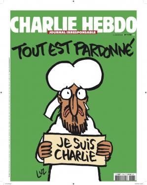 Primul număr al revistei satirice Charlie Hebdo după atacurile în care au fost ucişi 12 angajaţi