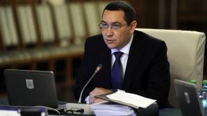 Ponta, după consultările cu Iohannis: Suntem de acord cu reducerea numărului de parlamentari