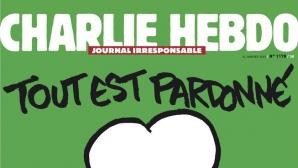 Primul număr al revistei satirice Charlie Hebdo după atacurile în care au fost ucişi 12 angajaţi,