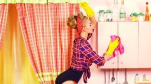 Trucuri geniale pentru curăţenie în bucătărie