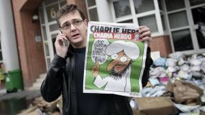 Directorul ziarului satiric Charlie Hebdo: Prefer să mor în picioare, decât să trăiesc în genunchi
