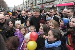 Ziua Unirii. Iohannis, fotografii inedite de la manifestaţiile de la Iaşi / Foto: Facebook.com