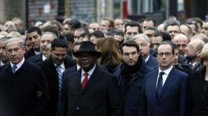 Un ziar israelian a șters toate femeile din fotografia marșului solidarității de la Paris