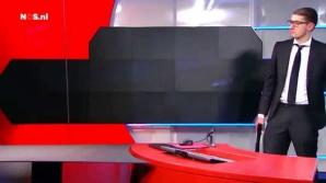 Un bărbat cu o armă de foc a pătruns, joi seară, în sediul Televiziunii publice olandeze