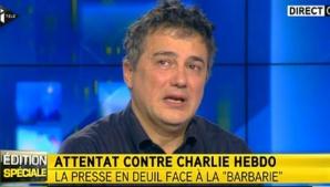Patrick Pelloux, în lacrimi după decesul colegilor săi de la Charlie Hebdo