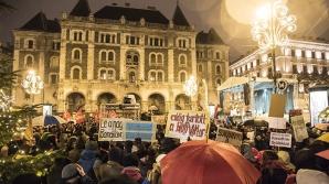 Protest la Budapesta