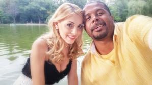 Cabral şi soţia sa, Andreea