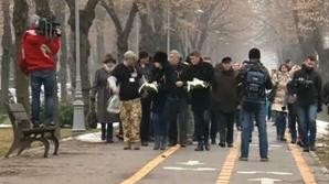 Marş în memoria victimelor accidentului din Apuseni