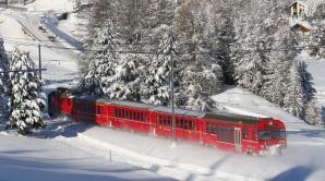 Un tren Interregio a deraiat în Cluj