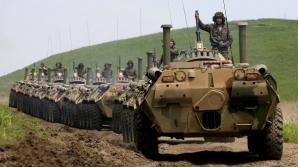 Înregistrarea video care confirmă invazia trupelor rusești care luptă în Donețk
