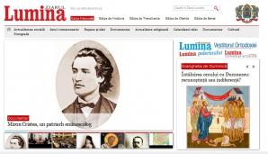 Site-ul 'Ziarul Lumina', care aparţine BOR, spart de hackeri. Poliţia s-a autosesizat
