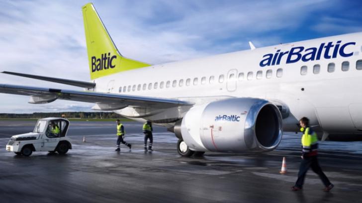 O companie aeriană nou intrată pe aeroporturile din Capitală în 2014 - Air Baltic