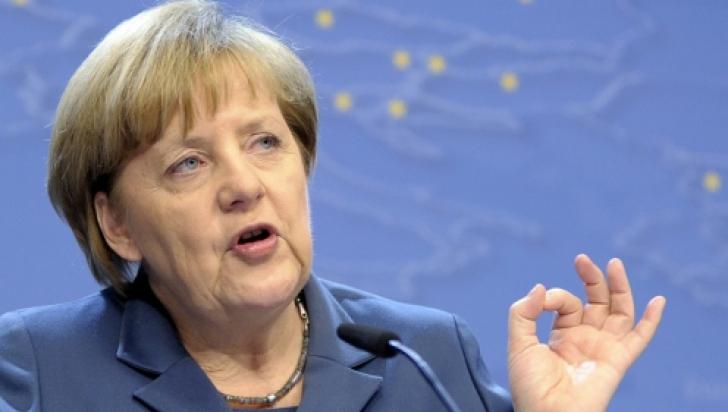 Merkel, mesaj pentru Banca Centrala Europeană privind măsurile de relaxare cantitativă