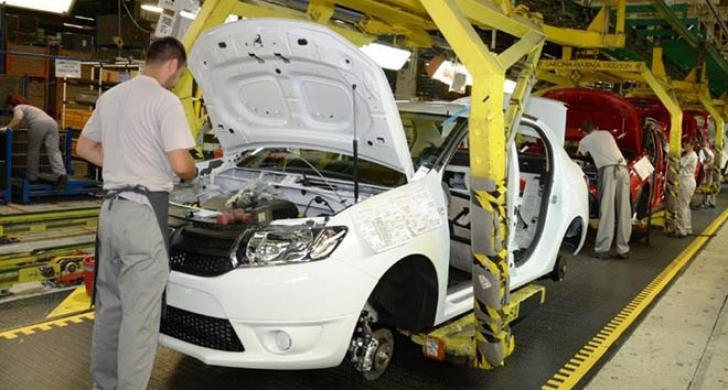 Salariile la Dacia cresc din nou