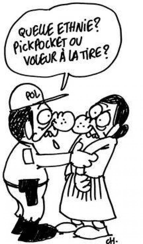 Ce scria Charlie Hebdo despre hoţii români din Franţa