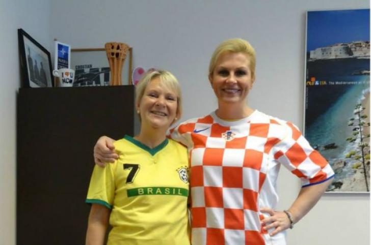 Noul președinte al Croației, o femeie