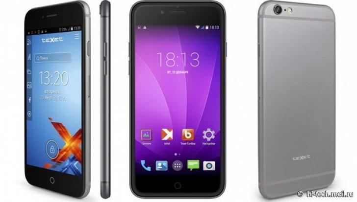 Gest incredibil al rușilor: Au copiat cu nesimțire iPhone 6 și fac concurență chinezilor!