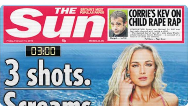 The Sun renunţă la fotografiile topless de la pagina 3