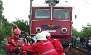 Accident de tren în apropierea Bucureştiului
