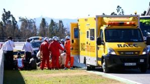 Fernando Alonso, accident în Formula 1