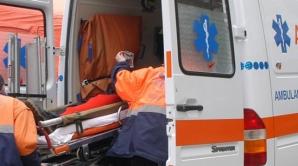 Copil de 5 luni, rănit într-un accident rutier